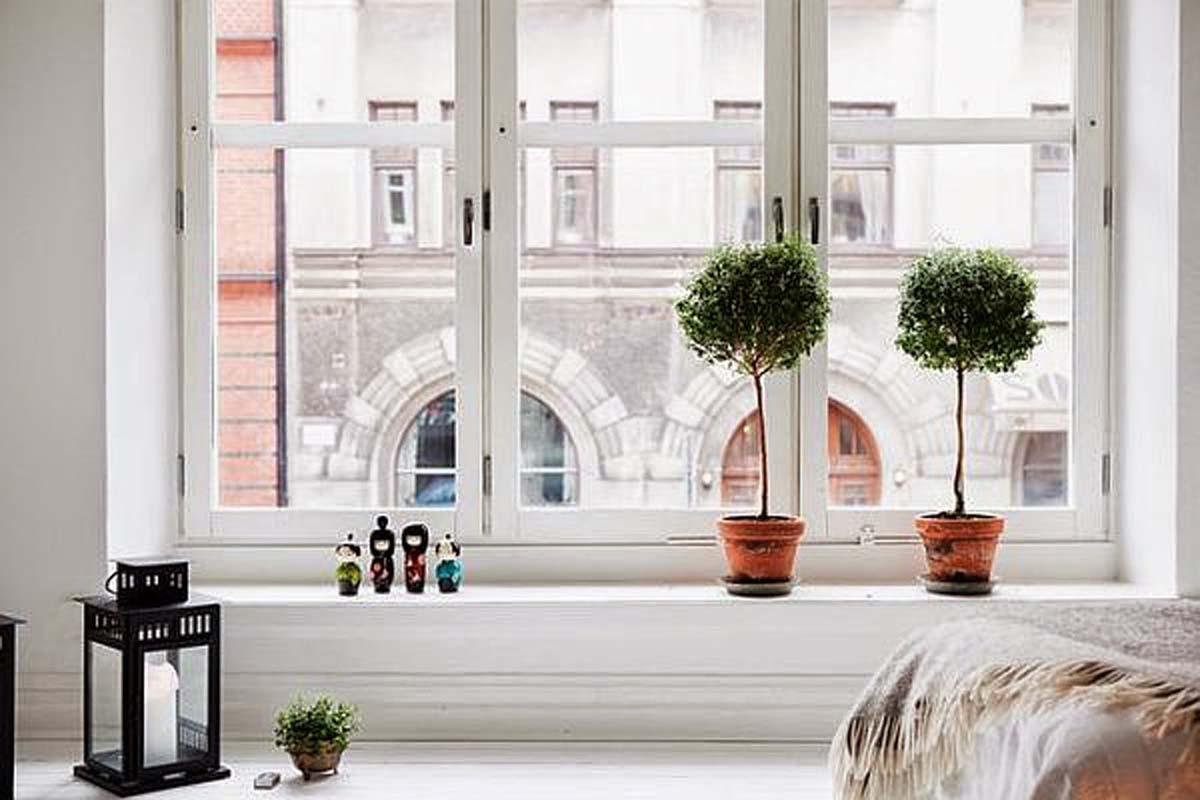 Дизайн комнатного окна